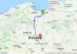 Trasa Elbląg - Lipno