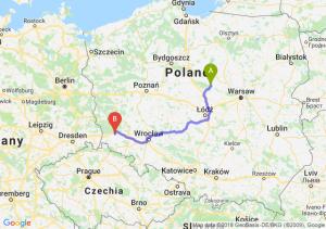 Trasa Płock - Bolesławiec