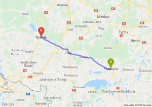 Trasa Pszczyna - Rybnik
