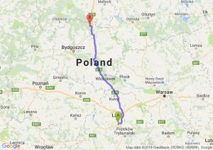 Trasa Rzgów - Warlubie