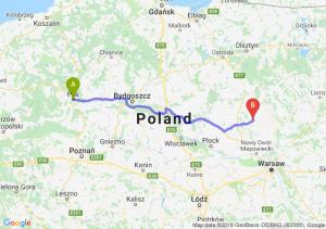 Trasa Piła - Ciechanów