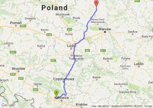 Trasa Zabrze - Ciechanów