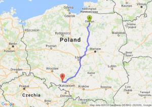 Trasa Olsztyn - Krapkowice