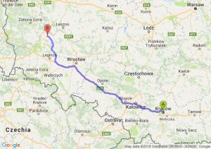 Trasa Kraków - Głogów