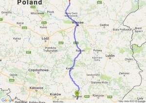 Trasa Tarnów - Ciechanów
