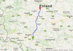 Trasa Brzeg - Strzelno
