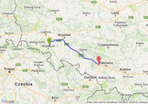 Trasa Świebodzice - Gliwice
