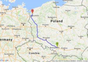 Trasa Zabrze - Goleniów