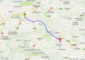 Trasa Mszczonów - Bochotnica