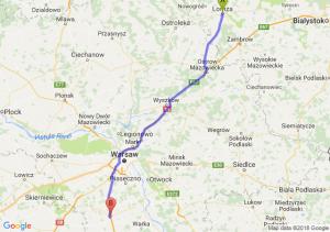 Trasa Łomża - Grójec