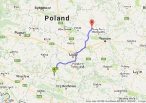 Trasa Wieluń - Płońsk