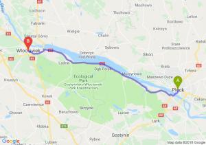 Trasa Płock - Włocławek