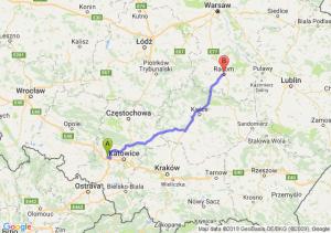 Trasa Gliwice - Radom