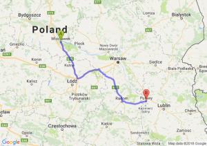 Trasa Włocławek - Puławy
