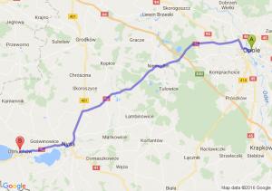 Opole (opolskie) - Otmuchów (opolskie)