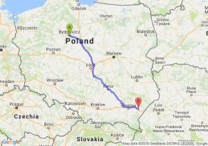 Trasa Bydgoszcz - Jarosław