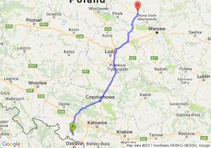 Racibórz - Płońsk