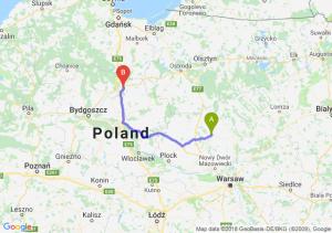 Trasa Ciechanów - Grudziądz