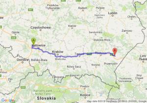 Trasa Zabrze - Jarosław