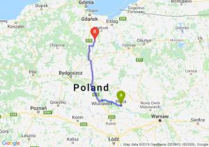 Trasa Płock - Gniew