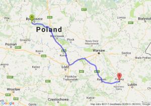 Trasa Białe Błota - Puławy
