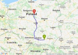 Trasa Tarnów - Lipno