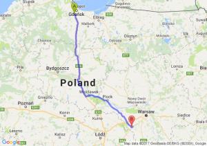 Trasa Straszyn - Mszczonów