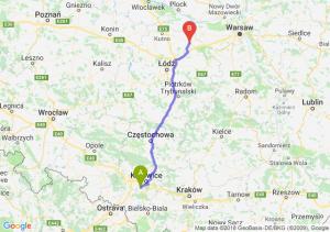 Trasa Mikołów - Łowicz