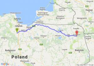 Starogard Gdański - Augustów