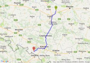 Trasa Łowicz - Racibórz