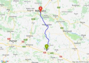 Trasa Konin - Bydgoszcz