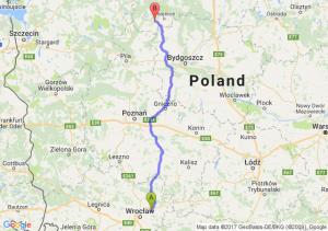 Trasa Borowa - Człuchów