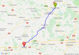 Trasa Tarnobrzeg - Tarnów