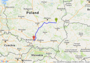 Trasa Łuków - Mikołów