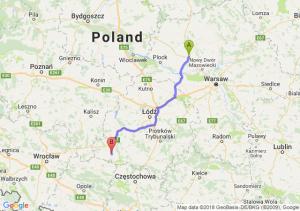 Trasa Płońsk - Wieluń