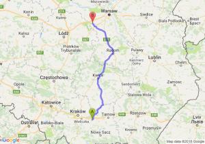 Trasa Bochnia - Żyrardów