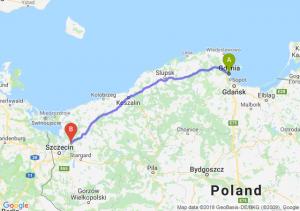 Trasa Gdynia - Goleniów