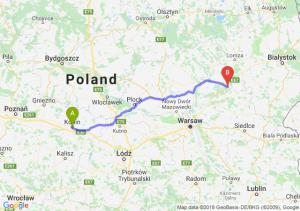 Trasa Konin - Ostrów Mazowiecka