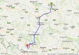 Trasa Nowy Dwór Mazowiecki - Rybnik