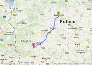 Trasa Bydgoszcz - Głogów