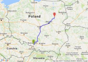 Trasa Rybnik - Ostrów Mazowiecka