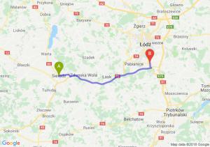 Trasa Sieradz - Rzgów
