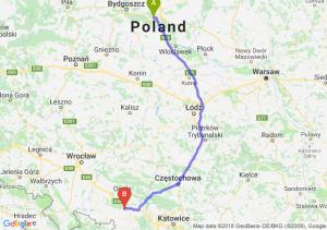 Trasa Toruń - Krapkowice