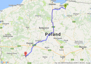 Pasłęk (warmińsko-mazurskie) - Leszno (wielkopolskie)