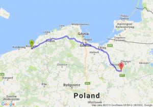 Koszalin - Olsztynek