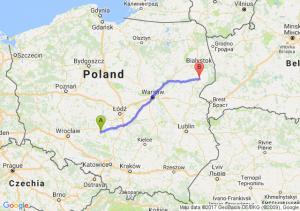 Wieluń - Bielsk Podlaski