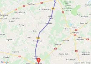 Trasa Łomża - Ostrów Mazowiecka