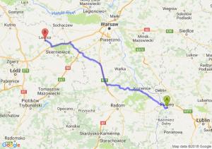 Trasa Puławy - Łowicz