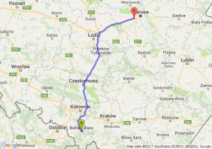 Trasa Bielsko-Biała - Pruszków