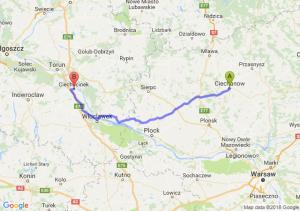 Trasa Ciechanów - Ciechocinek